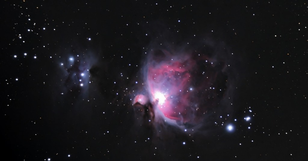 Great Orion Nebula, Chalkidiki, Greece, 2013
