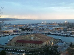 Ancona view from piazza San Gallo