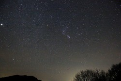 Orion Constellation, 40 31 N, 23 13E, 768m, Livadi, Greece, 2013